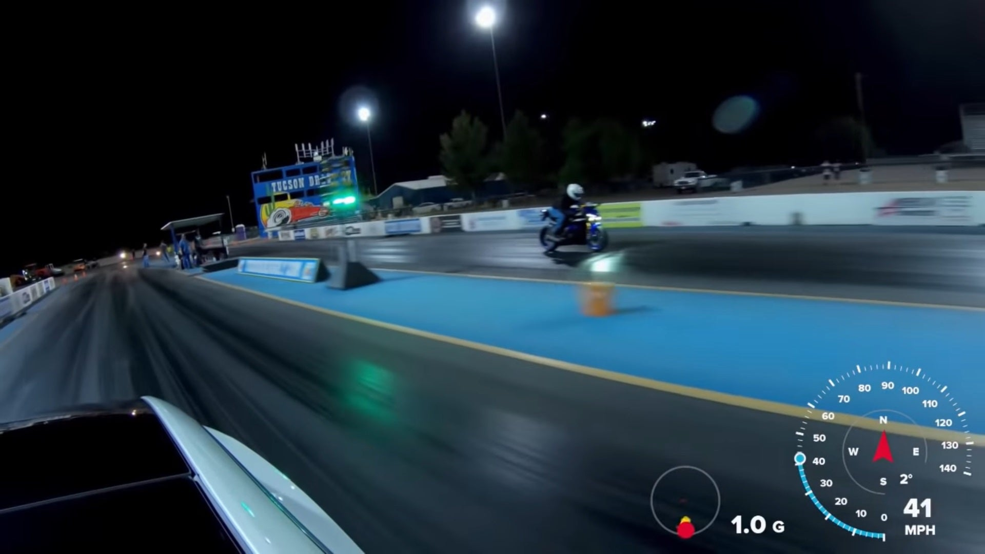 Tesla Model 3 Performance Upsets Yamaha R6 in Quarter Mile