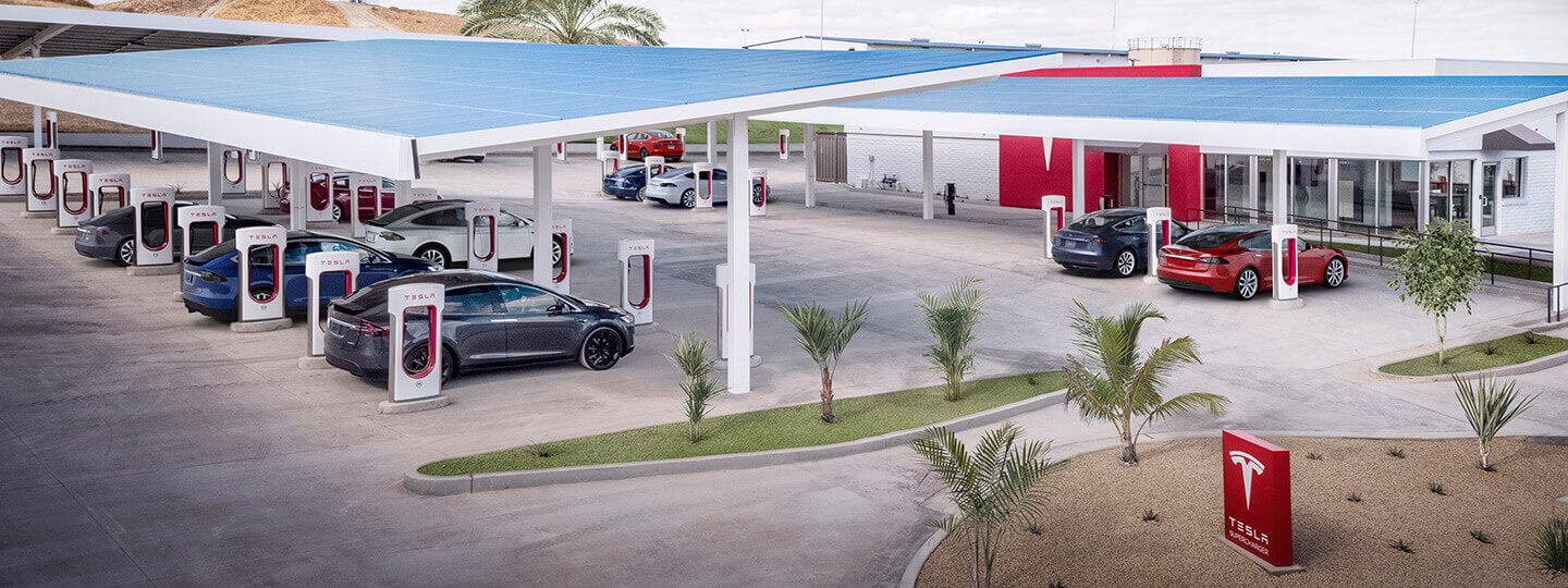 Tesla Is Building Largest US Supercharger Station with 56 V3 Stalls in Firebaugh, CA