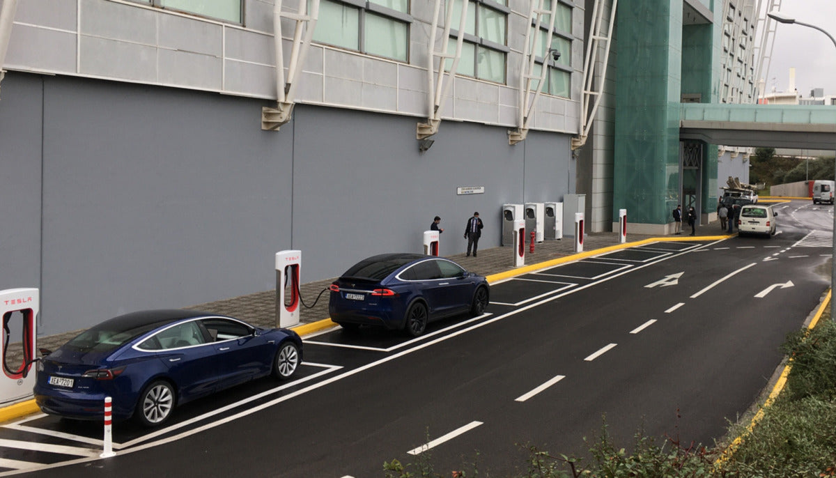 Tesla Officially Launched 1st Supercharger Station in Greece & More Are on the Way