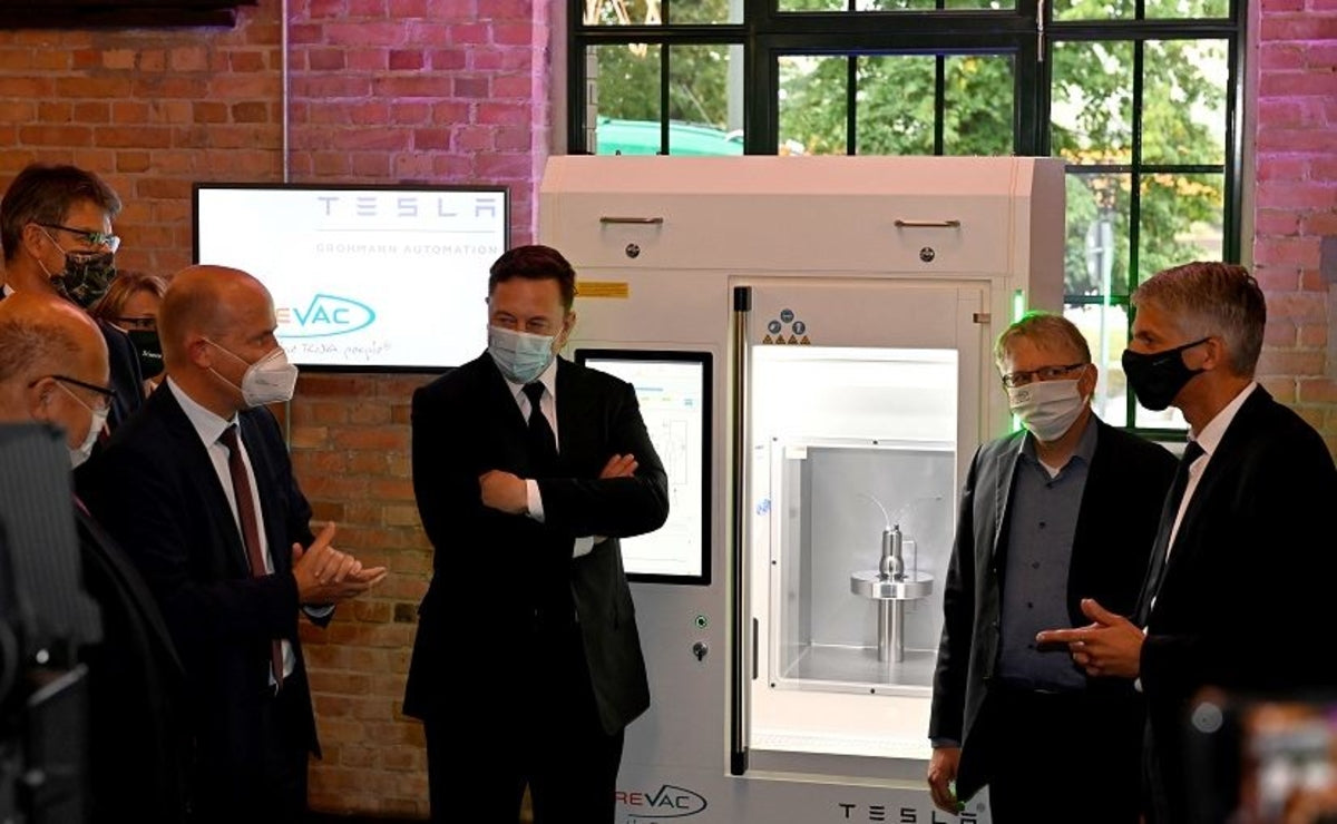 Tesla & CureVac Create Printer for COVID-19 Vaccines & Customized Drugs for Diseases Like Cancer