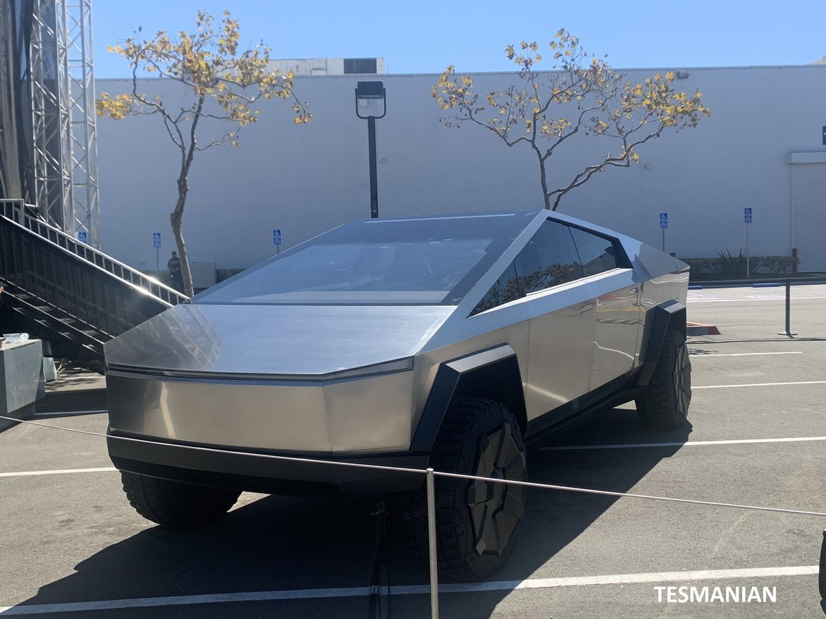 Tesla Cybertruck Armor Glass May Be Undergoing Testing as Giga Texas Production Slated to Begin in 2021