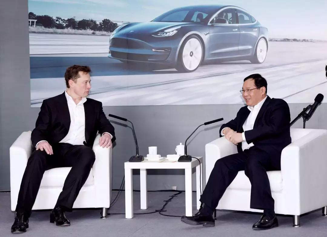 Li Qiang, secretary of the Shanghai Municipal Party Committee, met with Elon Musk to attend the Ceremony