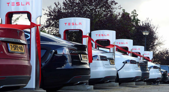 Tesla's 1st V3 Supercharger Arrived Netherlands As WW Expansion Continues