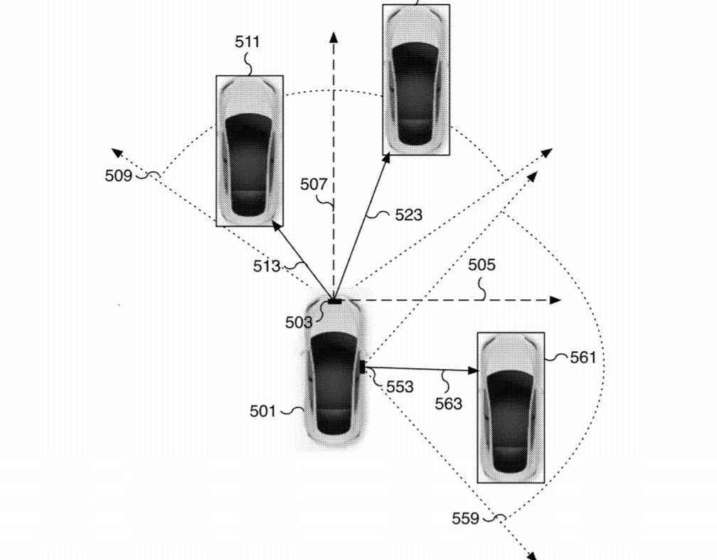 Tesla Published A Patent 'Estimating Object Properties Using Image Data'