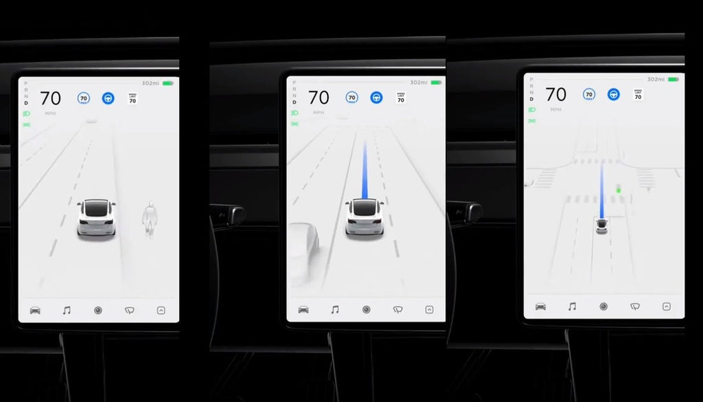 Tesla FSD Beta V9 Visualization Is a 'true mind's eye of the neural net,' Says Elon Musk