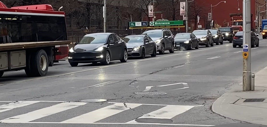 Tesla Model Y First Spotted in Toronto Canada [Video]