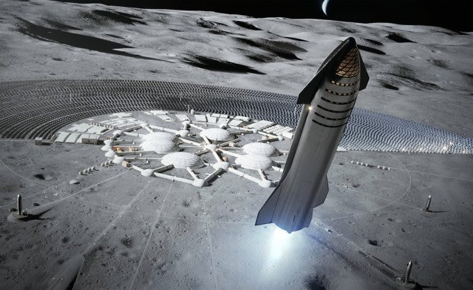 SpaceX Ambitious Starship Timeline: Moon landing within 3 years!