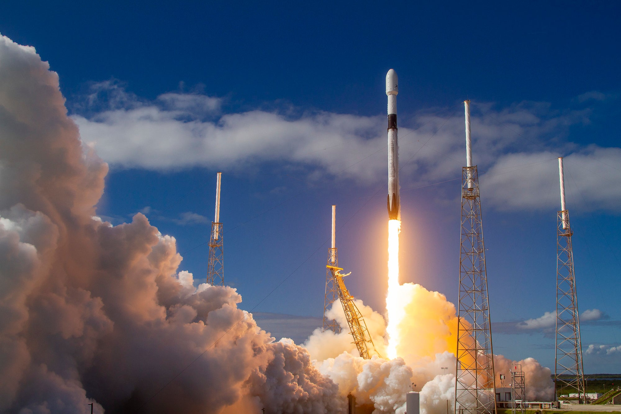 Spaceflight Inc. selects SpaceX's Rideshare Program to launch satellites for multiple companies