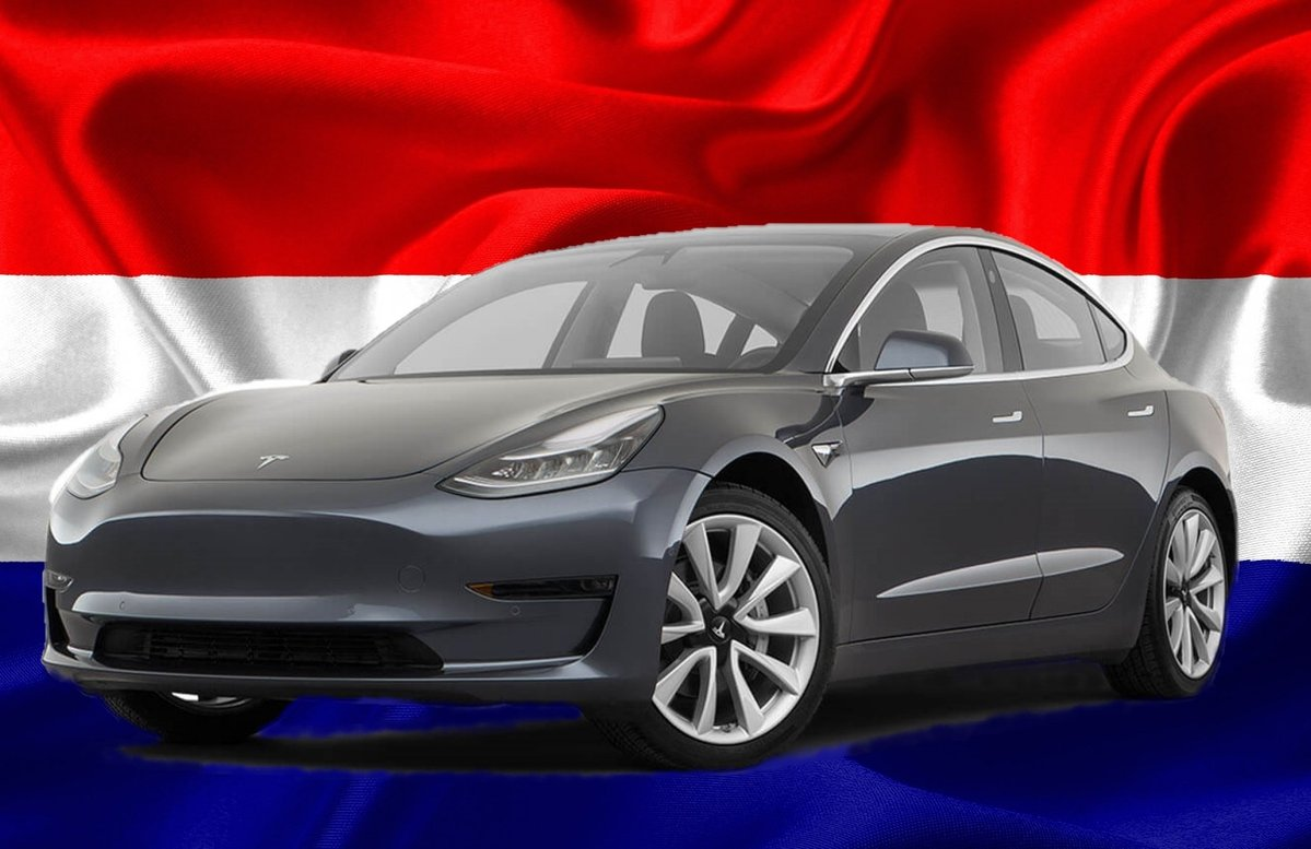 Tesla Model 3 Became The Best-Selling Vehicle In Netherlands In March 2020