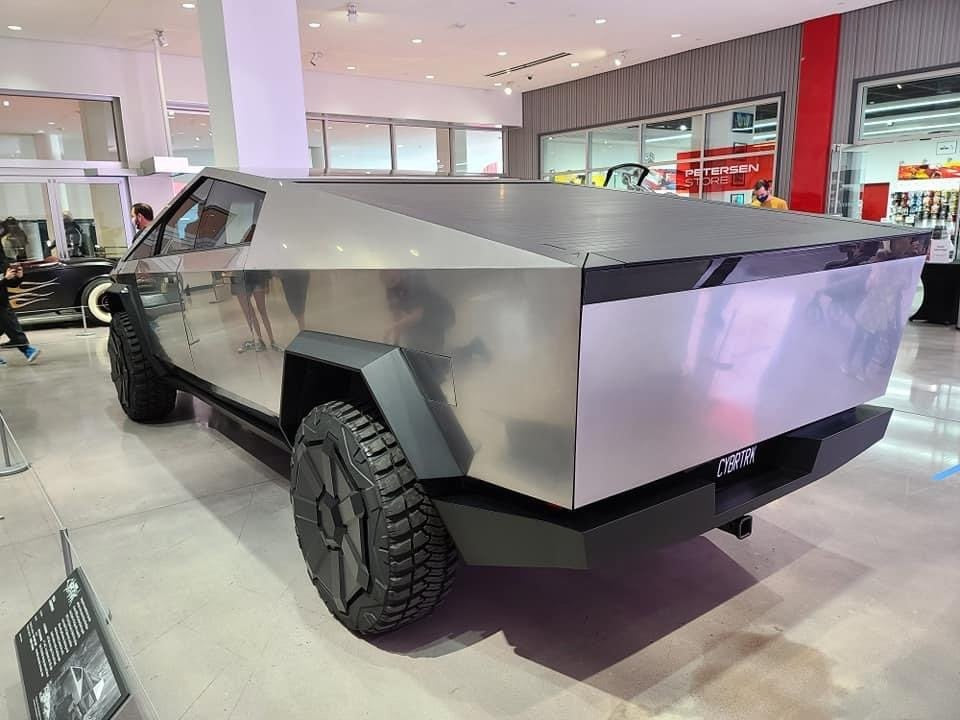 Tesla CyberTruck Arrived The Petersen Automotive Museum