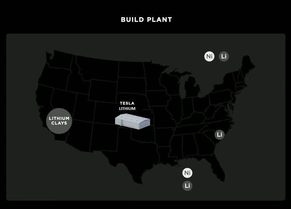 Tesla Giga Texas Will Have Lithium Hydroxide Refinery to Eliminate Transportation Cost & Time