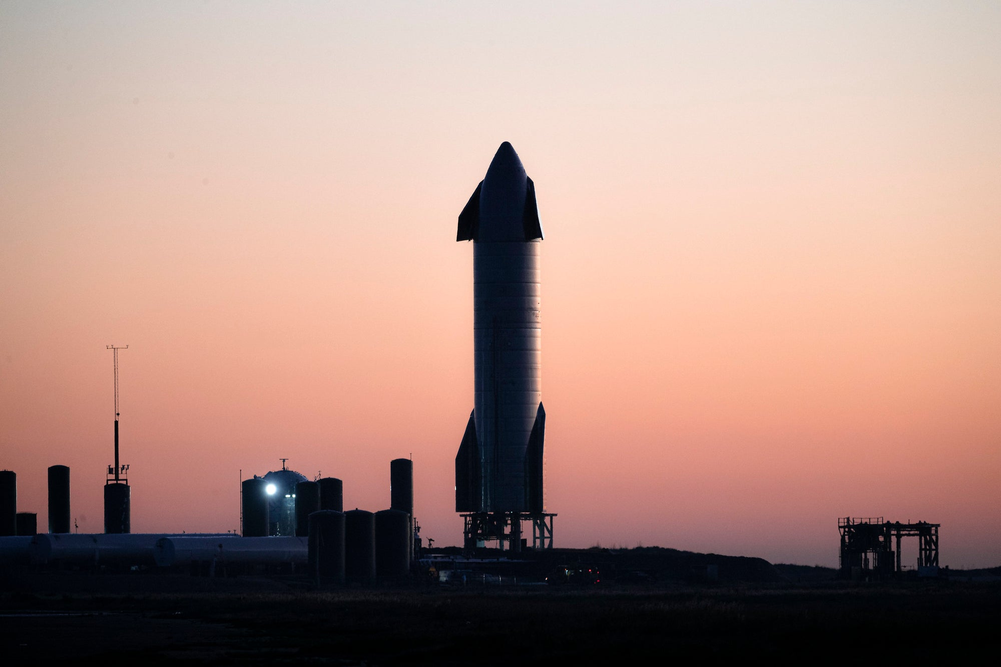 Report states SpaceX plans to drill natural-gas at the South Texas Starship Launch Facility