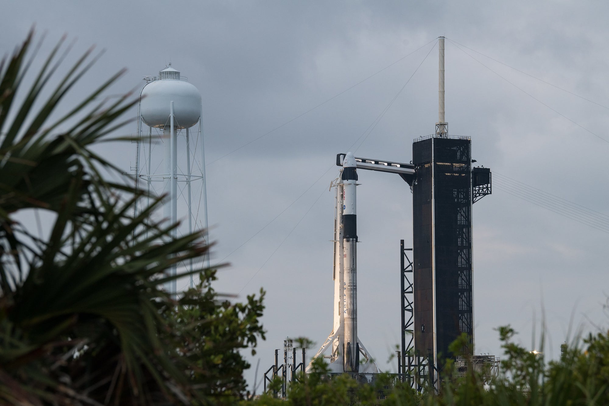 Florida Coast Weather Delays NASA & SpaceX Crew-2 Mission Until Friday