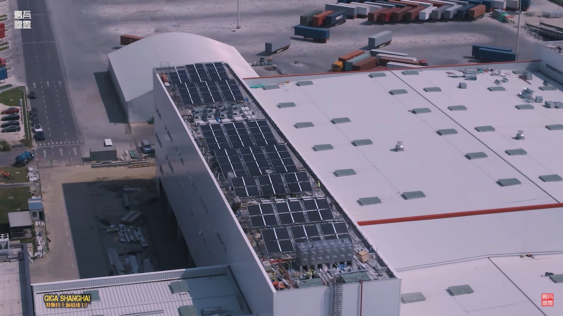 Tesla Giga Shanghai Adds Solar Panels for Sustainable Energy