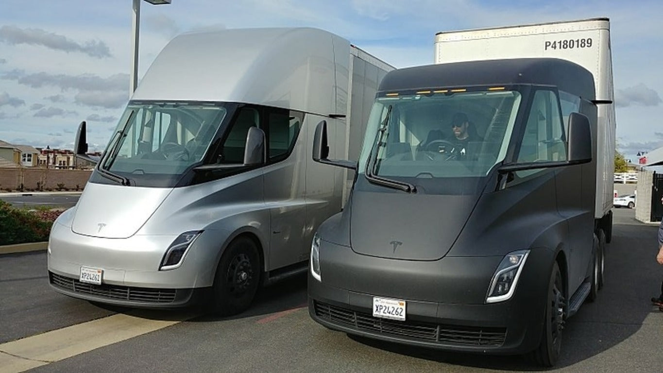 Tesla Semi Appears in Autopilot Code & Giga Nevada May Be Building 4 Semis with New Battery Tech
