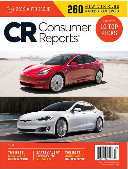 Tesla Regain a Consumer Reports Recommendation
