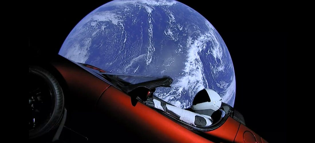 Today is the second anniversary of SpaceX Falcon Heavy's inspiring debut flight that launched a Tesla Roadster to space