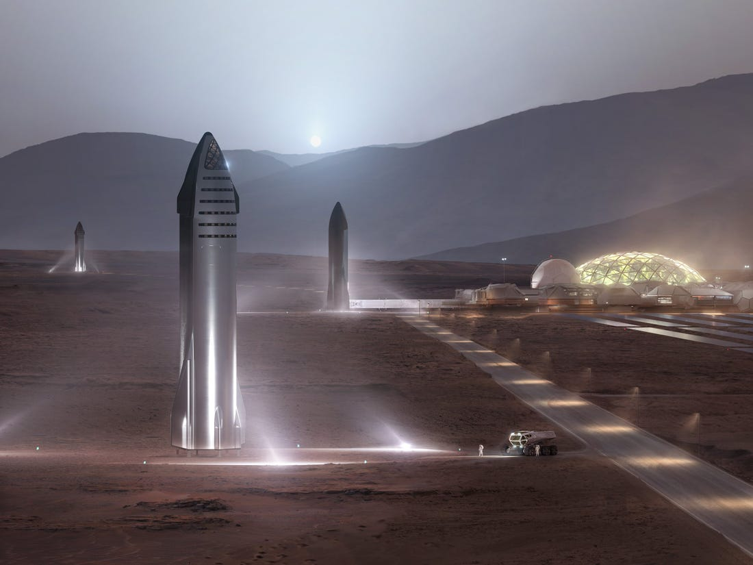 Elon Musk shares SpaceX Starship plans at the Mars Society Convention