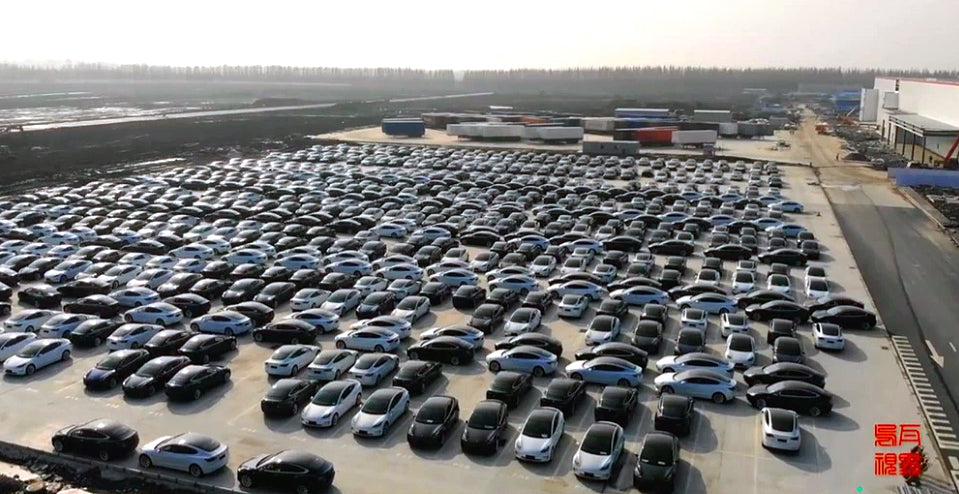 Tesla China Model 3 From Giga Shanghai Soon To Use Cobalt-Free LFP batteries