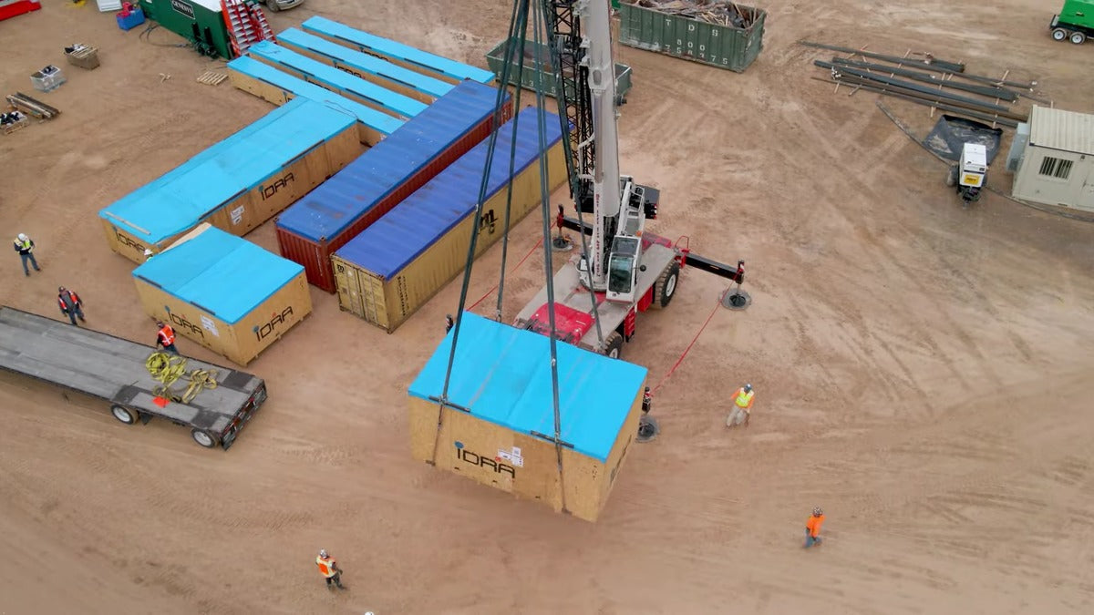 Tesla Giga Texas Construction Jumps Ahead as Giga Press Parts Arrive