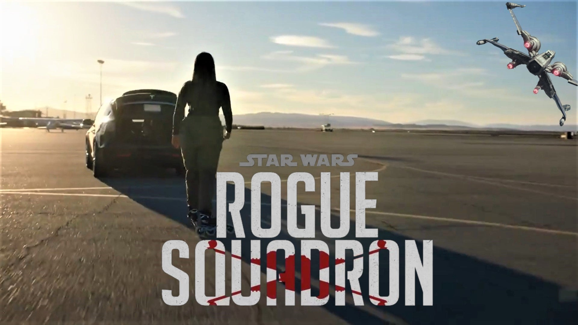 Tesla Model X Featured in New Star Wars Rogue Squadron Teaser