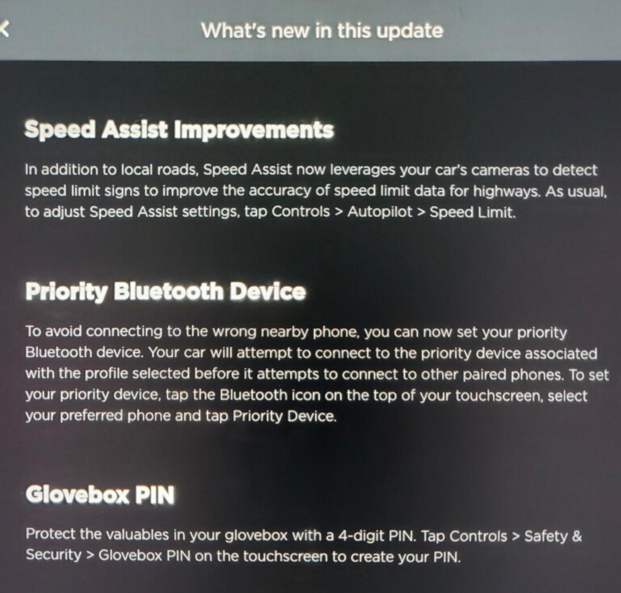 Tesla Releases OTA 2020.40.0.4 Software Update With Glovebox PIN, Charge Port Inlet Heater & More