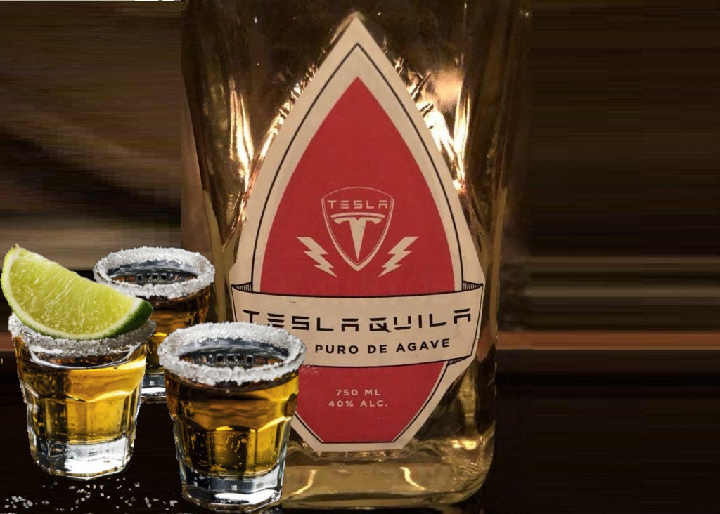 Tesla Next Big Merch Could Be The TESLAQUILA after Short Shorts