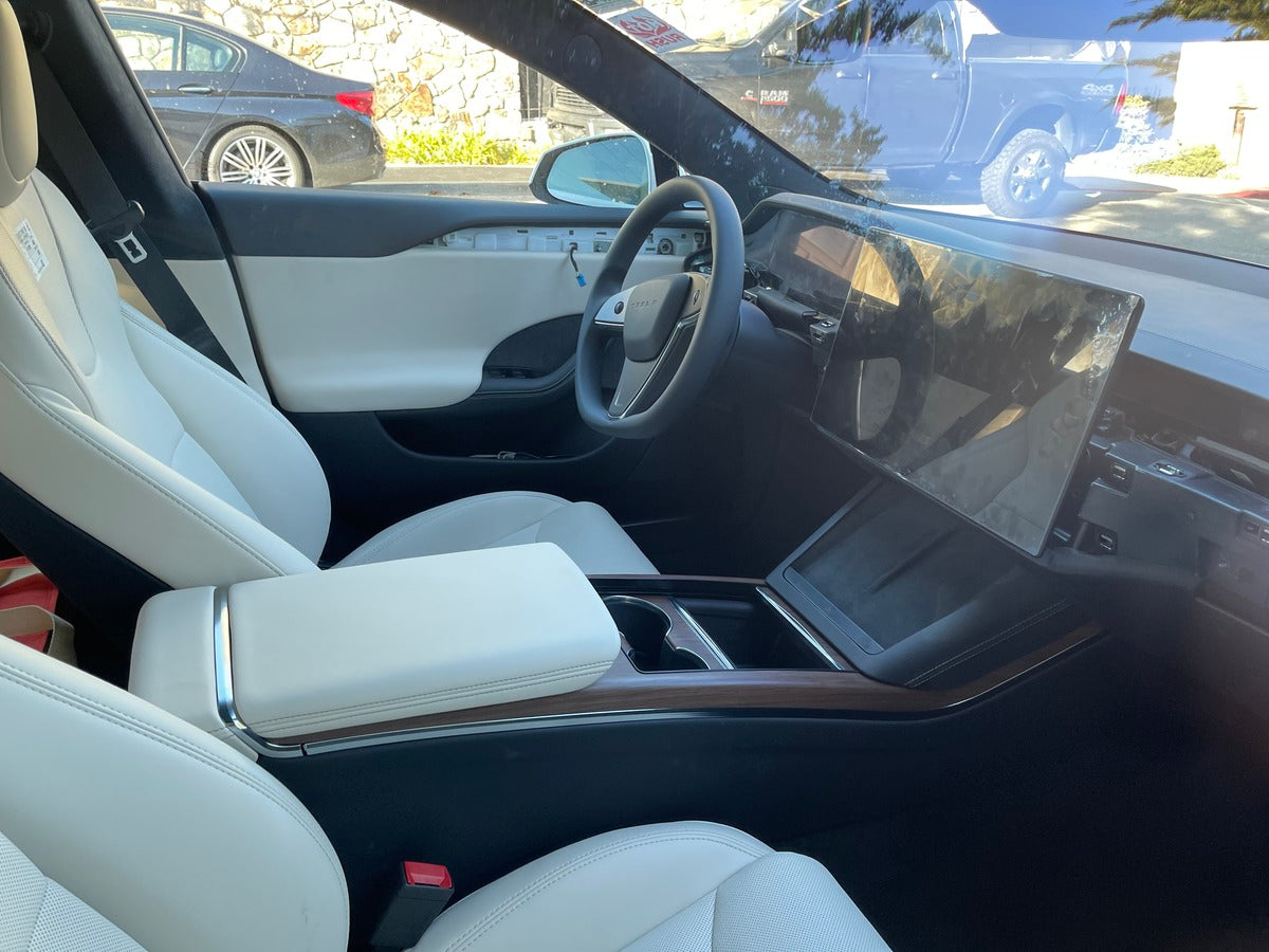 A Refreshed Tesla Model S Prototype Now Spotted in Carmel, California
