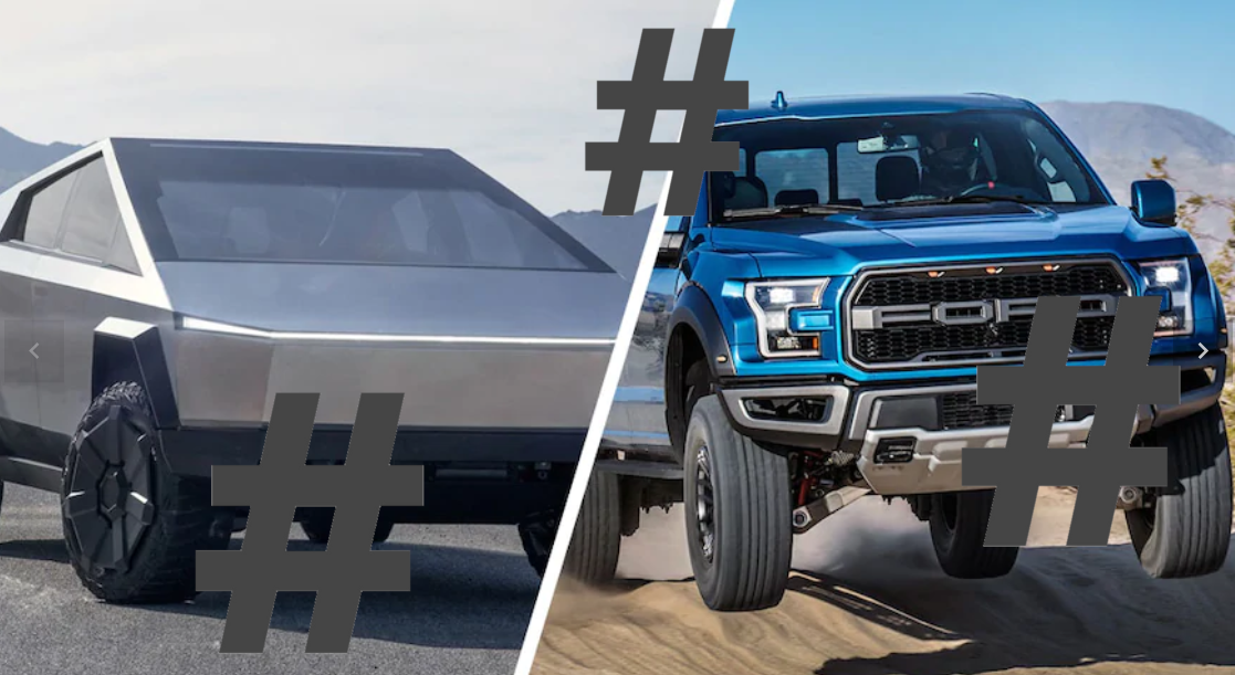 Tesla CyberTruck's hashtags are dominating the most trendy video-sharing social network