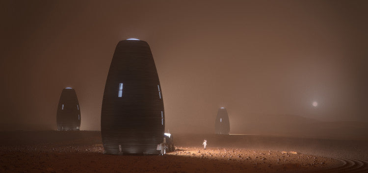 3D printed Mars homes could be a good option for first SpaceX Starship astronaut arrivals