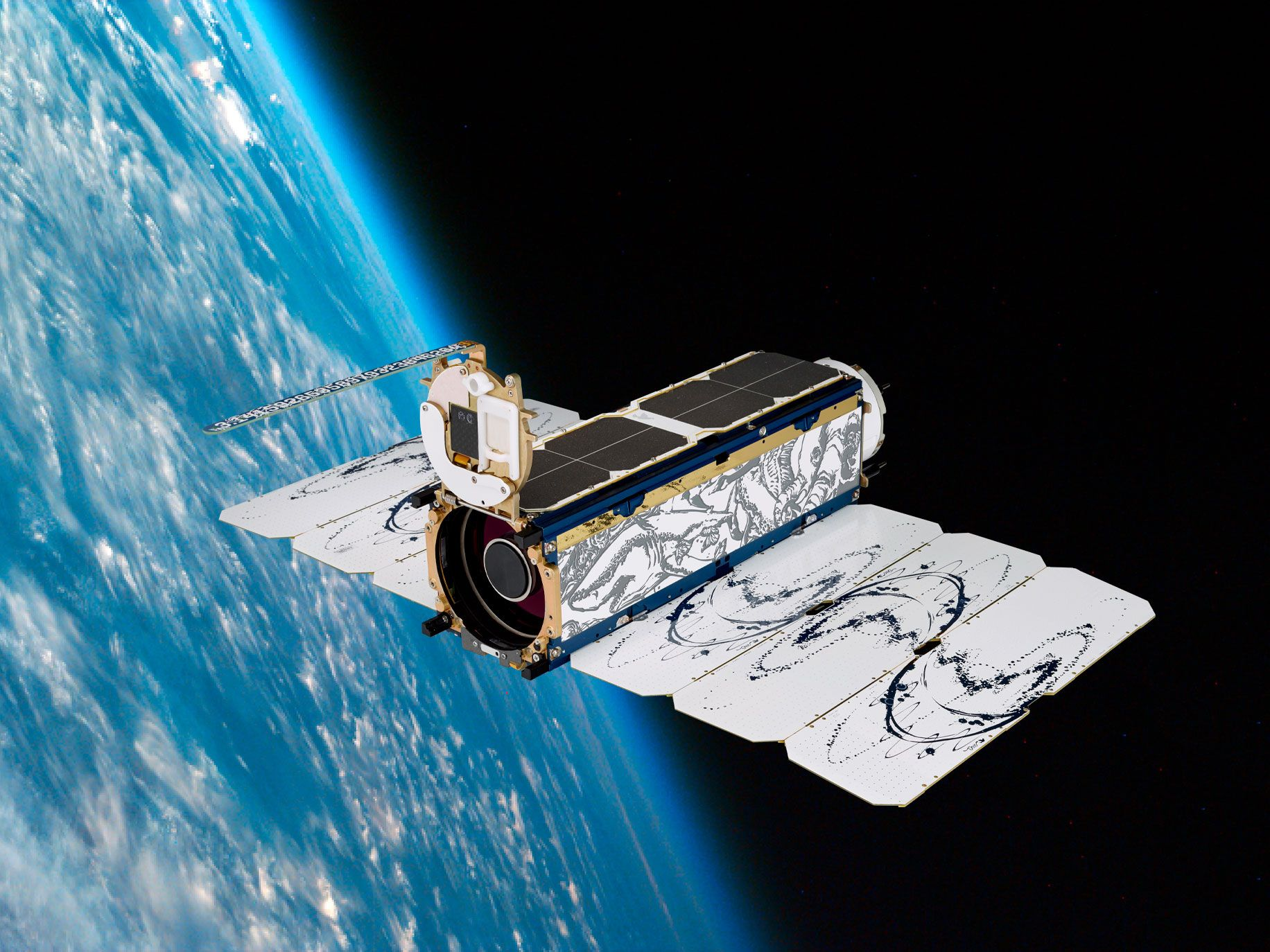 Planet Labs 48 Earth-Imaging satellites will hitch a ride aboard SpaceX's Transporter-1 Mission
