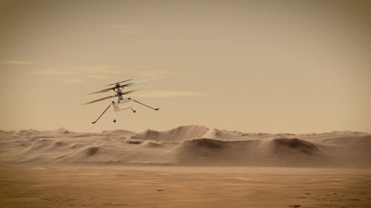 NASA's Ingenuity Helicopter Makes History As First Vehicle To Fly On Mars [VIDEO]