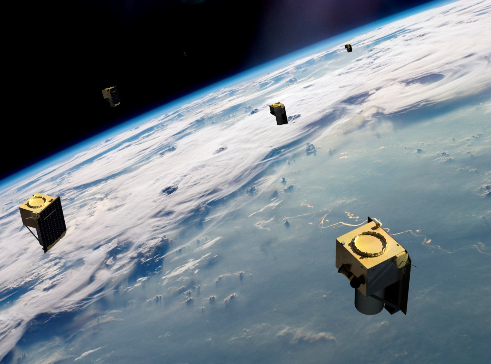 BlackSky satellites will hitch a ride on SpaceX's upcoming Starlink mission