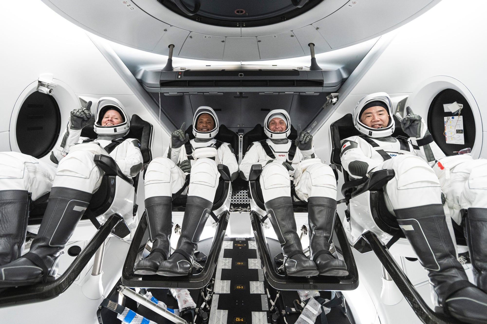 NASA sets date to launch four astronauts aboard SpaceX Crew Dragon