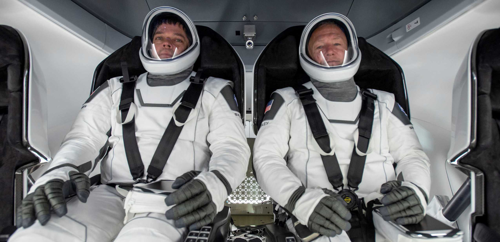 SpaceX is preparing to launch NASA astronauts for the first time -Take a look inside Crew Dragon!