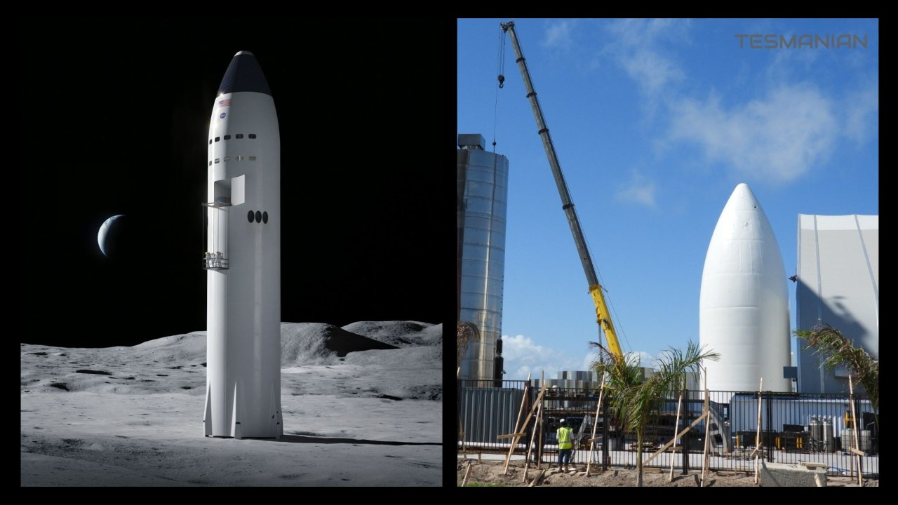 SpaceX is building a NASA Starship Lunar Lander prototype