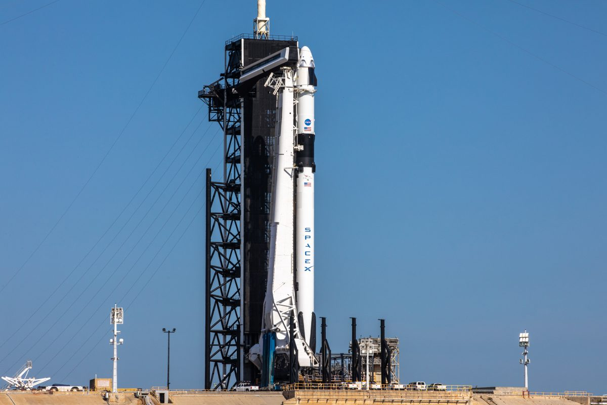 NASA and SpaceX officials complete a Launch Readiness Review to launch Astronauts on Wednesday