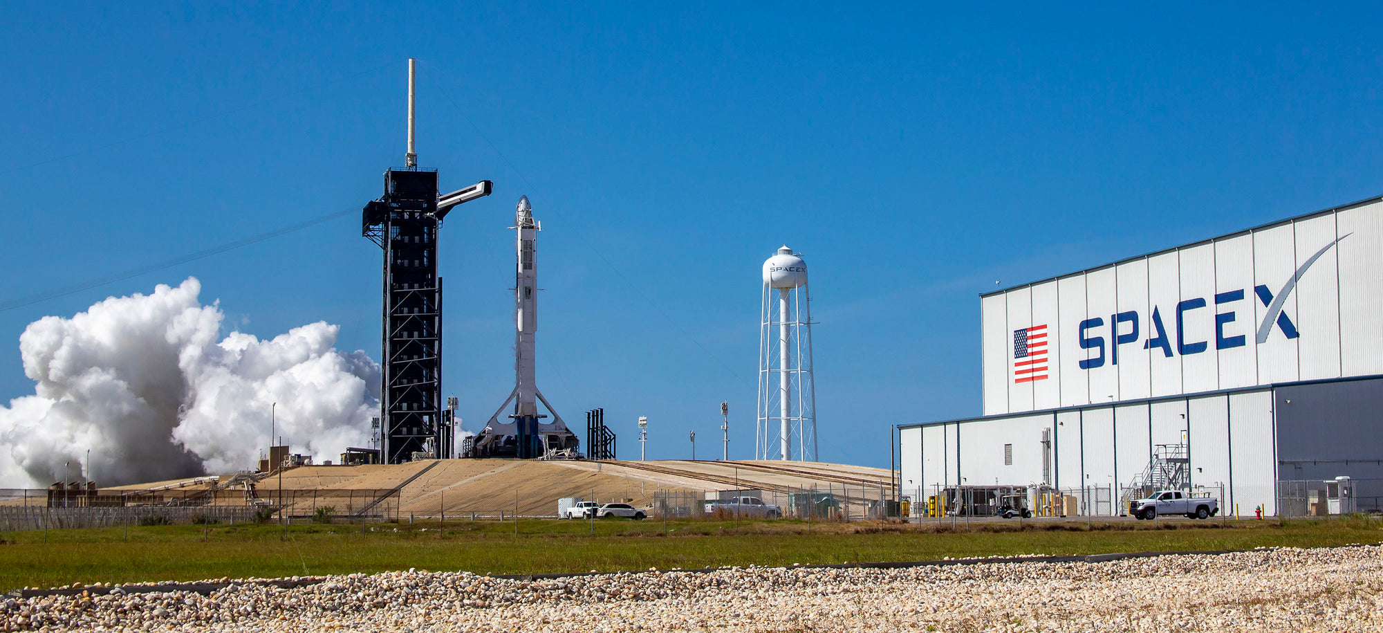 SpaceX moves closer to launching NASA Astronauts as it completes a static-fire test