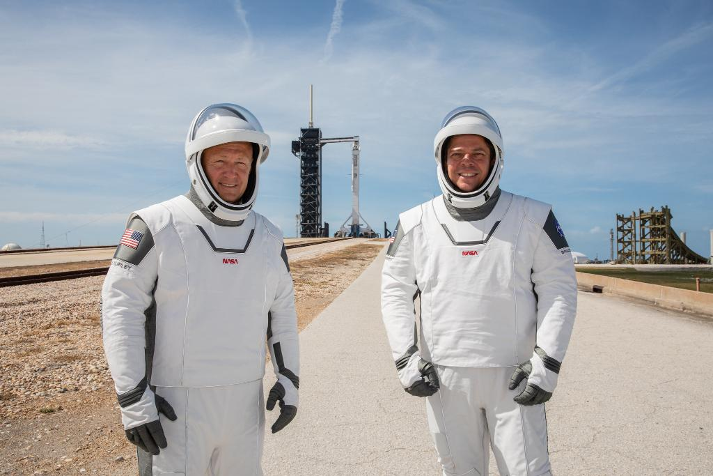 NASA Astronauts Complete Final Rehearsal - Only four days until SpaceX launch!