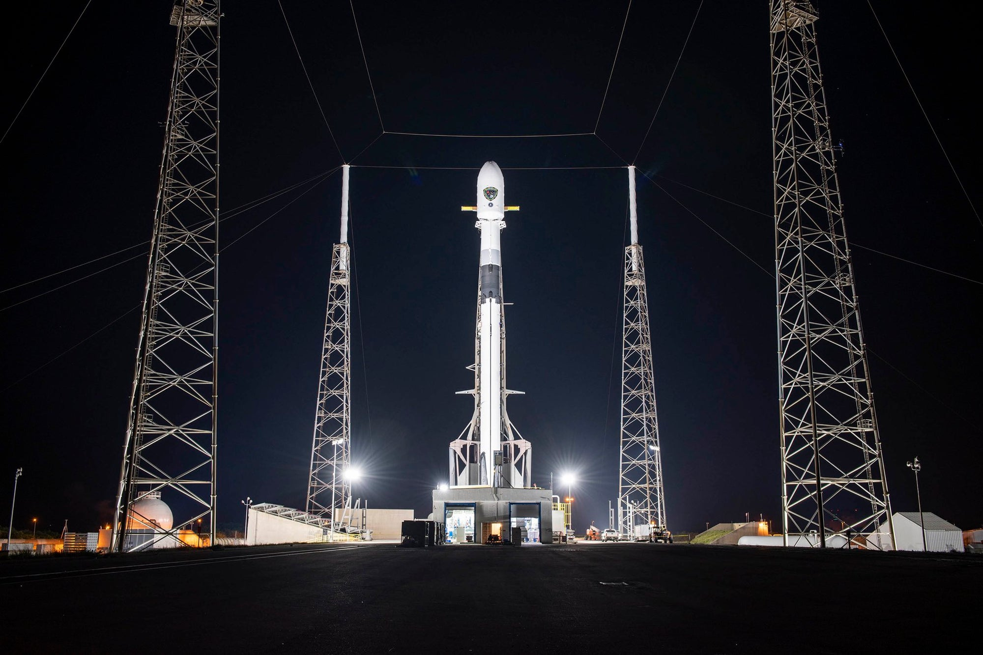 SpaceX Falcon 9 rocket will deploy U.S. Space Force's GPS-3 satellite –Watch It Live!