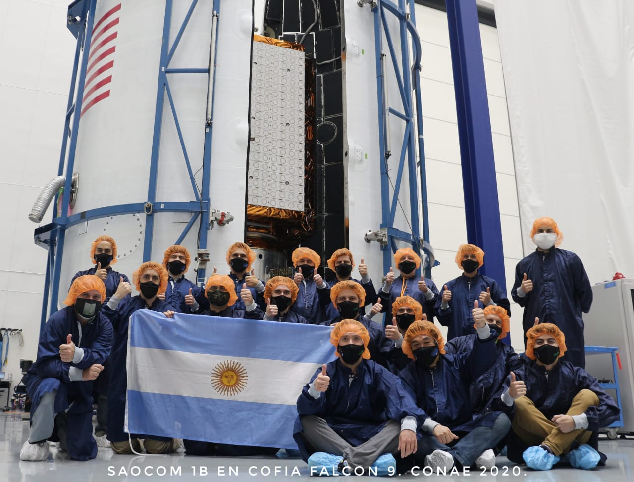 SpaceX Falcon 9 will launch Argentinian satellite to Polar Orbit next week