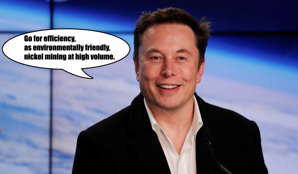 Canada's Love For Tesla Elon Musk, Answers For Sustainable Battery Materials?