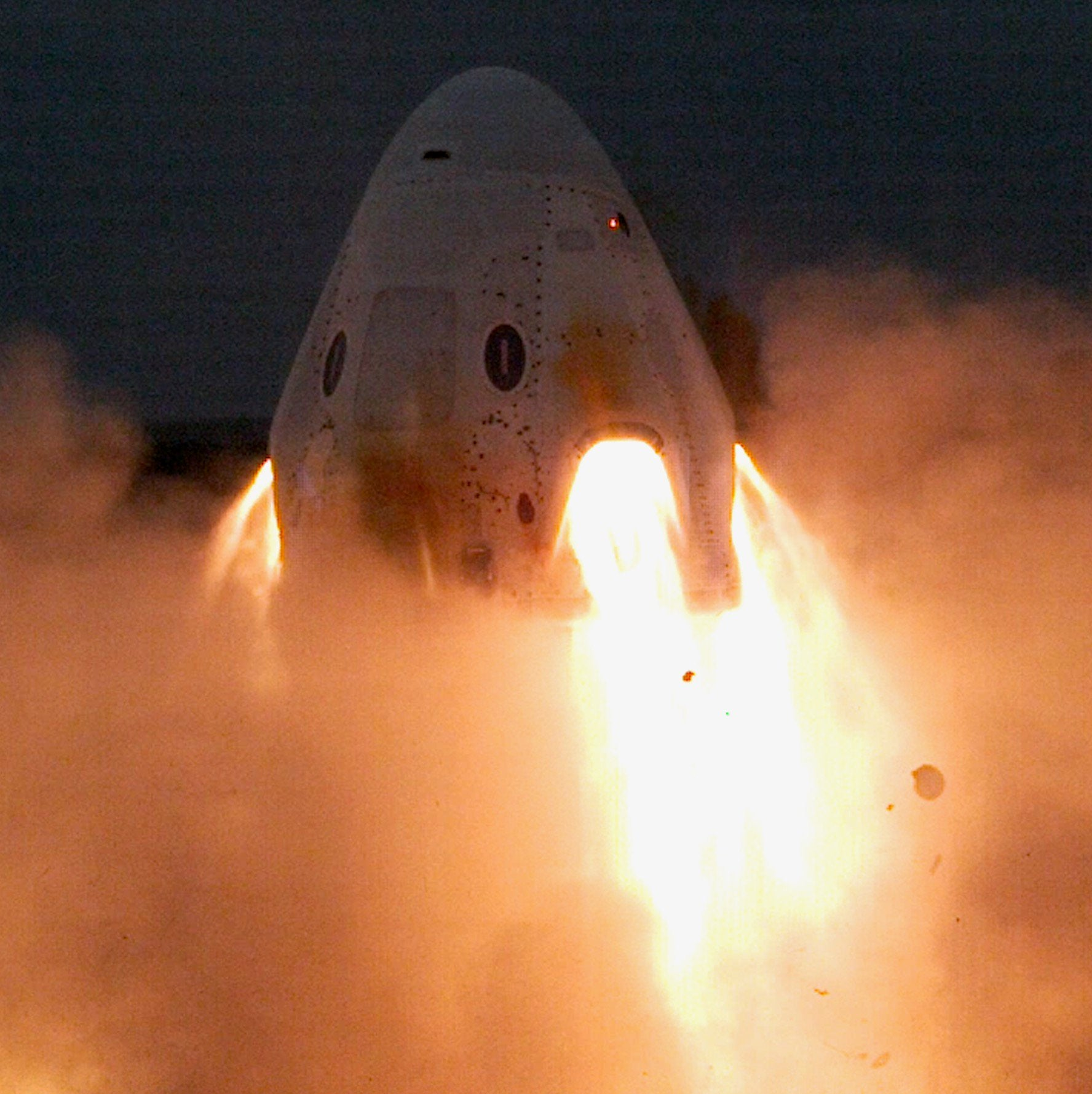 SpaceX Crew Dragon: SuperDraco engines successful test fire