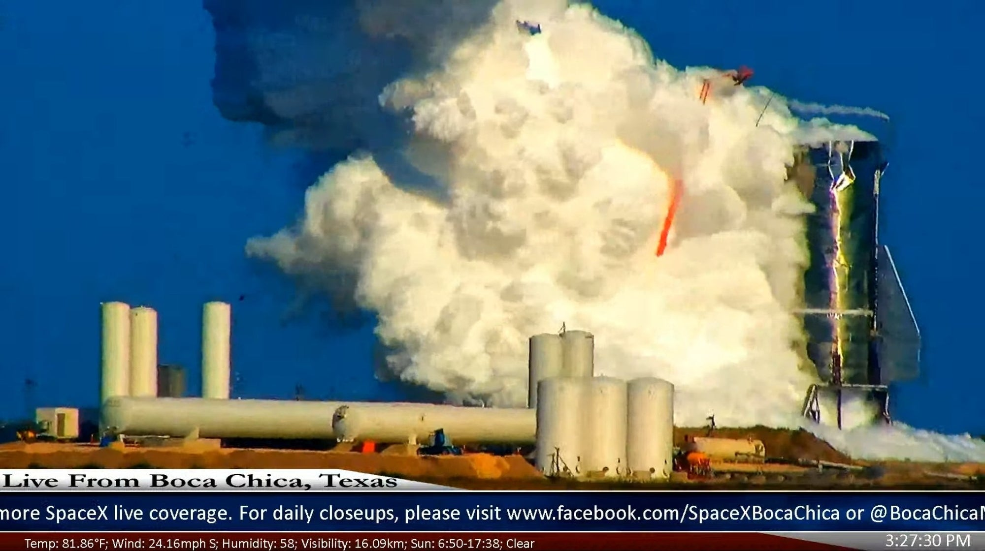 SpaceX Starship Mk1 tests in Boca Chica Texas