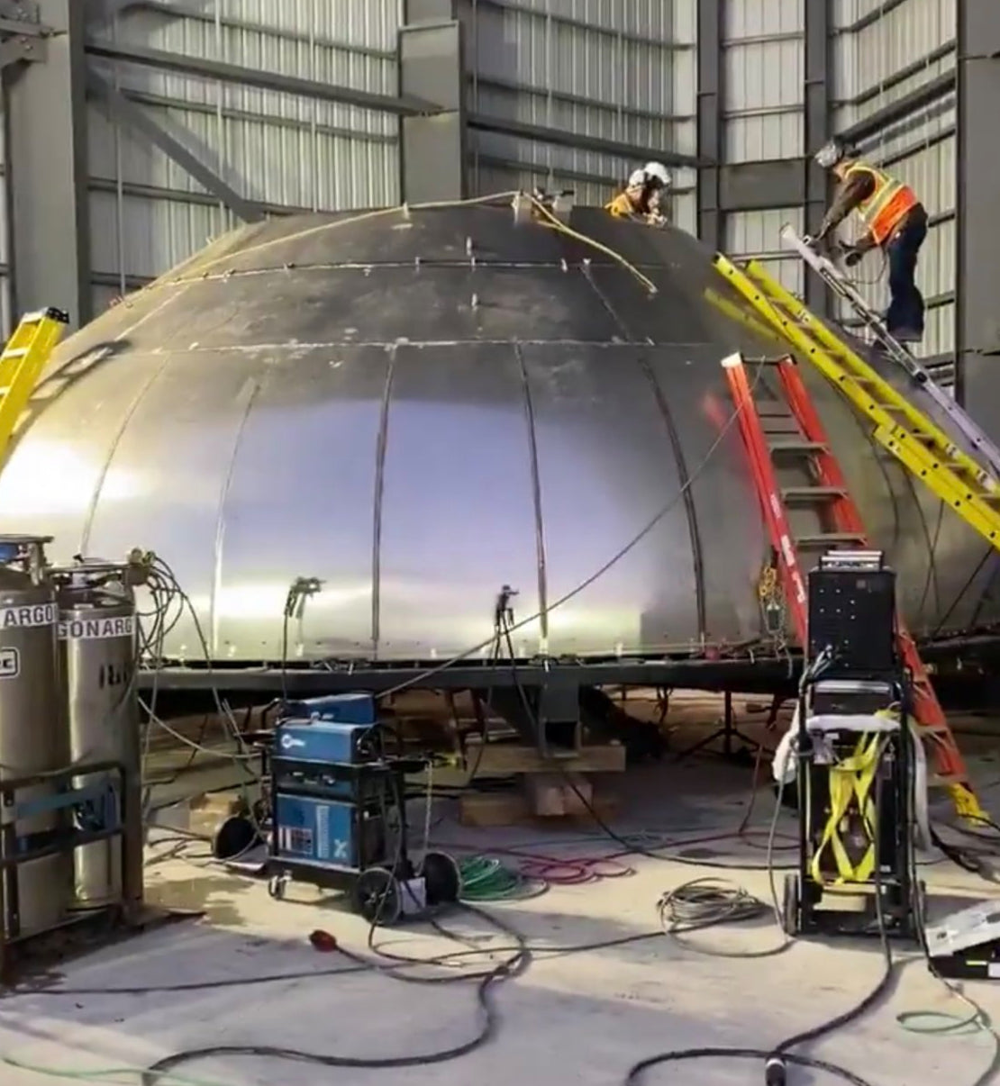 Elon Musk is working alongside SpaceX teams on Starship Mk3 at Boca Chica