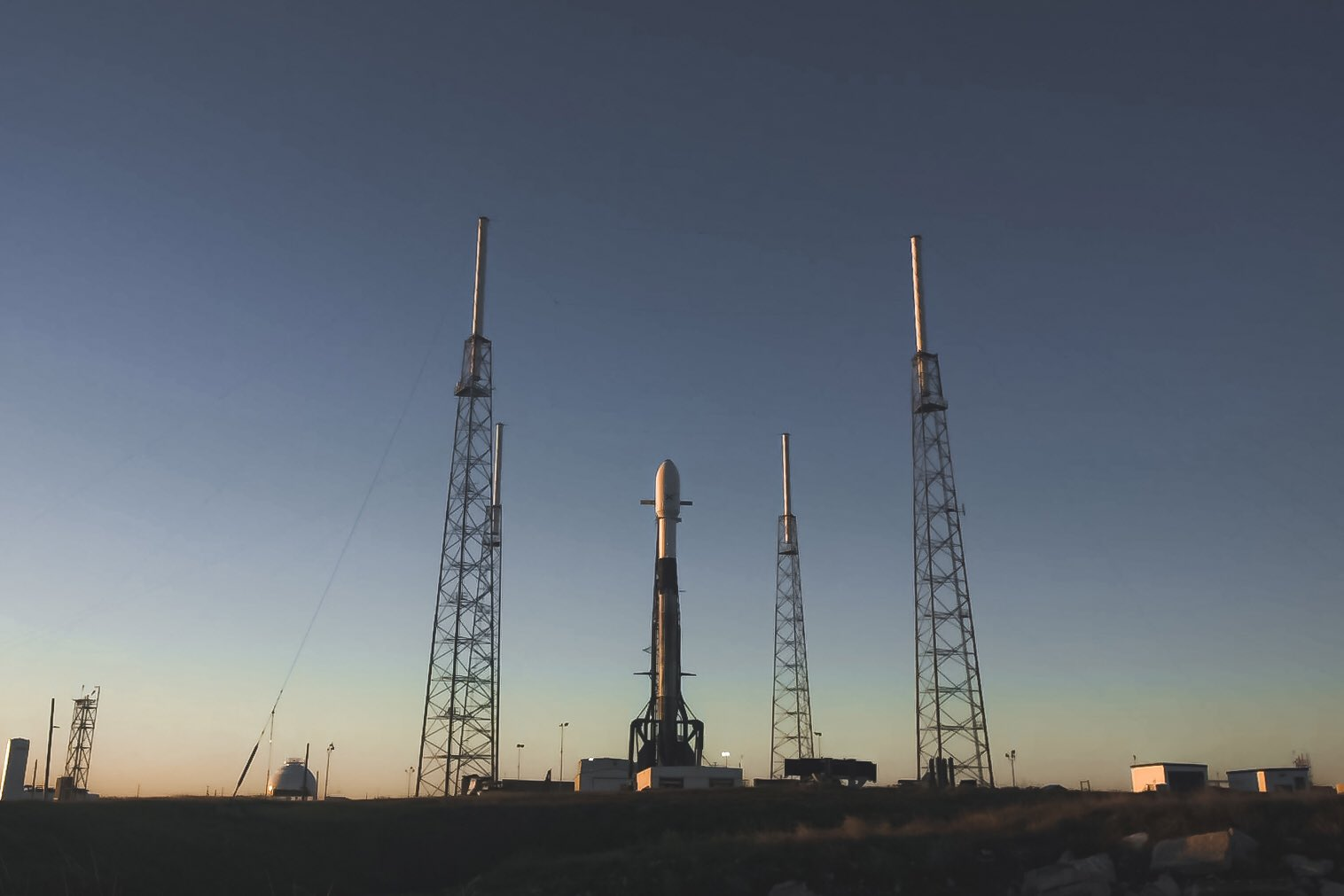 SpaceX will use a previously flown Falcon 9 rocket to deploy more Starlink satellites tonight. Watch it live!