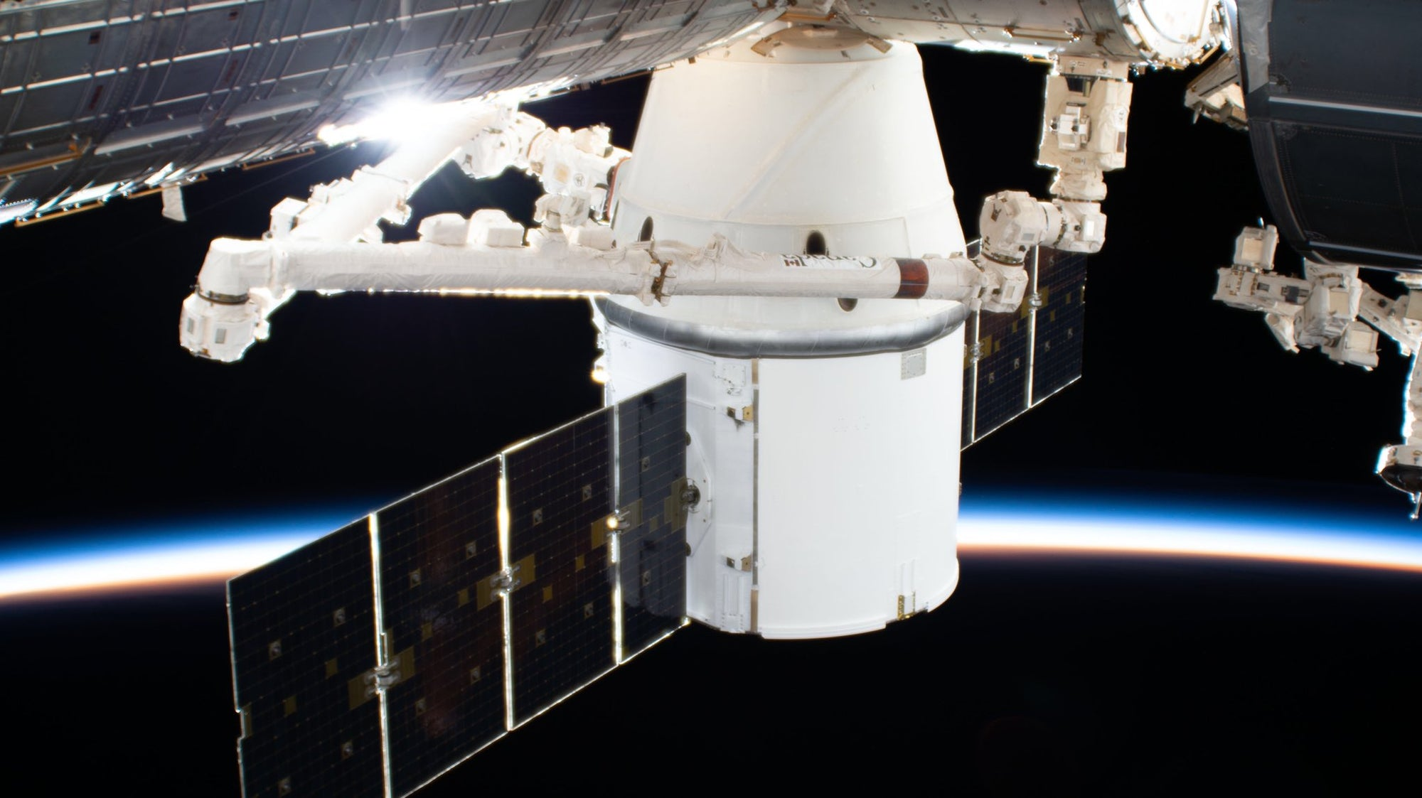 SpaceX's Dragon spacecraft will depart the Space Station tomorrow morning. Watch It Live!
