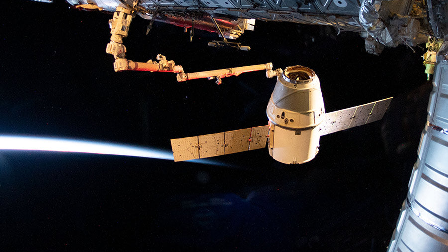 SpaceX's Dragon spacecraft returned to Earth after a month at the International Space Station