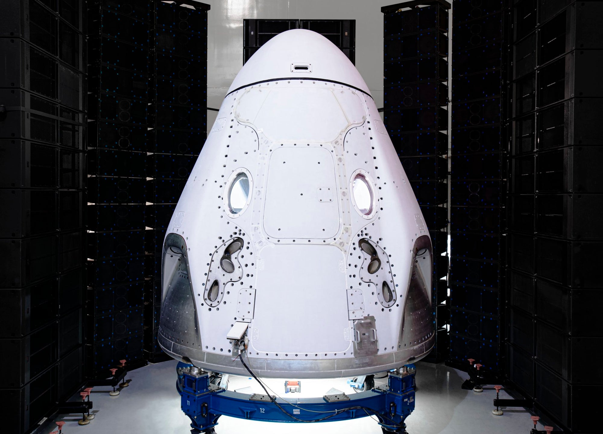 SpaceX's Crew Dragon spacecraft completes acoustic testing -another step closer towards launching NASA Astronauts for the first time!