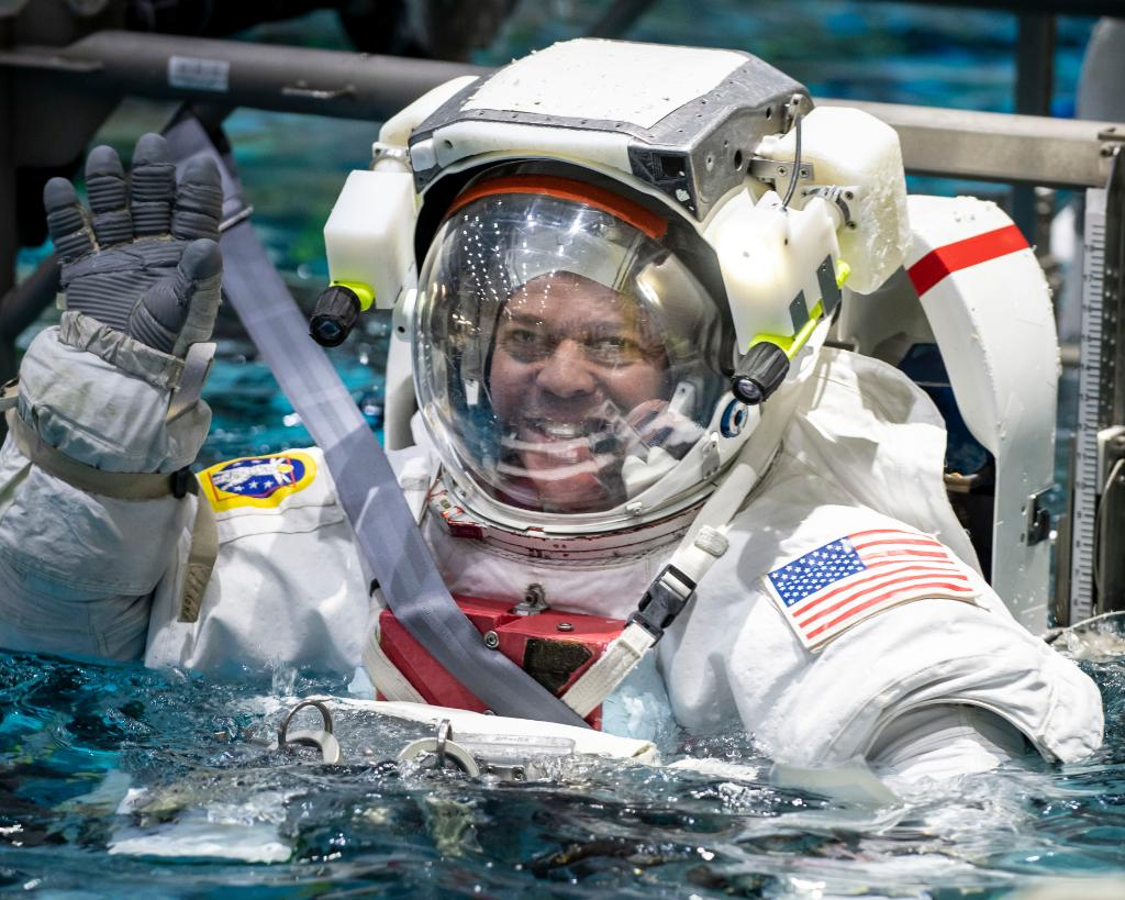 NASA Astronauts are training for a spacewalk ahead of SpaceX's first manned rocket launch